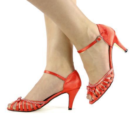 Růžové svatební, společenské sandálky, 36-41, 38