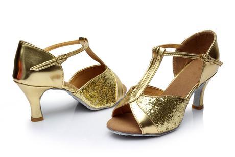 Růžové taneční střevíčky, boty, 36