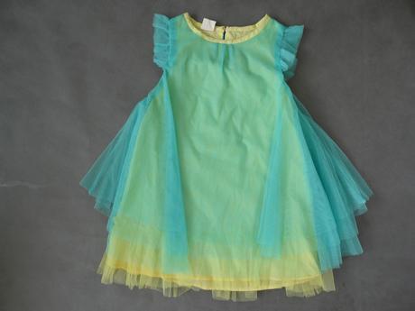 Šaty pro družičky, zelenkavé, 128