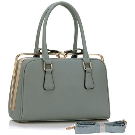 Šedá kabelka, taška,