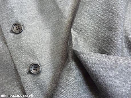 Šedý oblek k zapůjčení, 5-6 let, 116