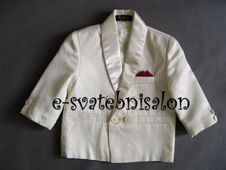 SKLADEM - ivory oblek k zapůjčení, 74