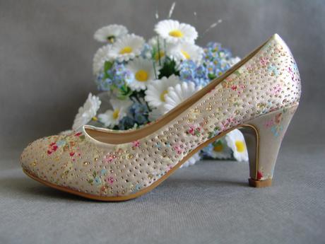 SKLADEM - ivory svatební lodičky, 37