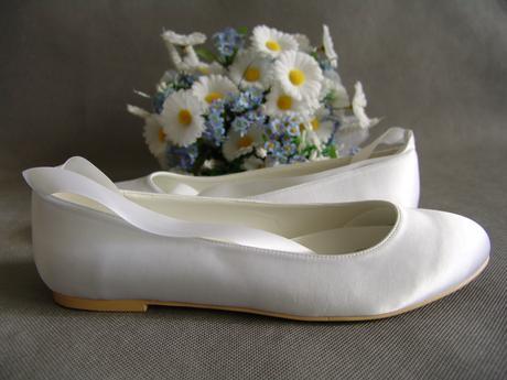 SKLADEM - nadměrné svatební baleríny, 41