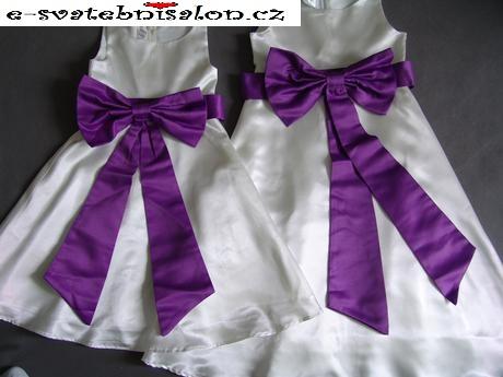 SKLADEM - šaty k zapůjčení, 1-2 a 5-6 let, 86