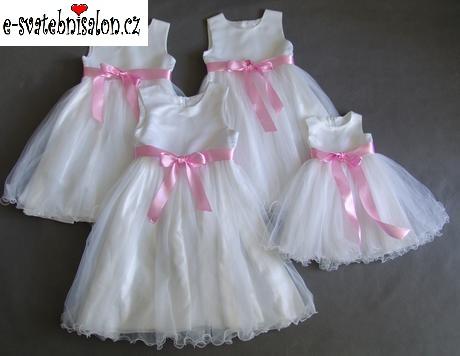 SKLADEM - šaty k zapůjčení, 12-18m, 10-13 let, 140