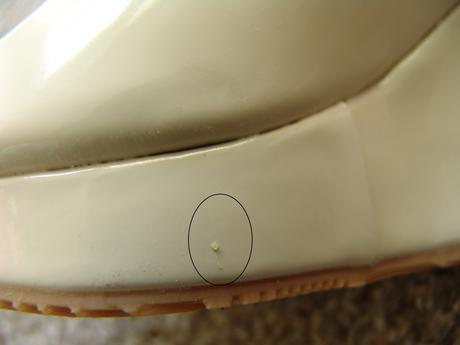Skladem - tělové, béžové botky na klínku, 38