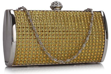 SKLADEM - zlatá kabelka,
