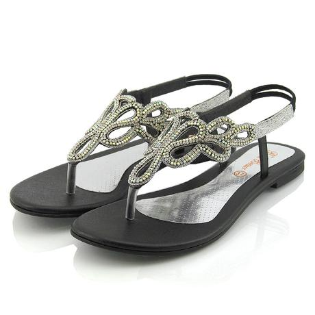 SKYLAR - svatební sandálky, 36