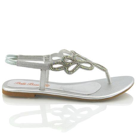 SKYLAR - svatební sandálky, 38