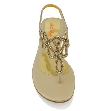 SKYLAR - svatební sandálky, 40