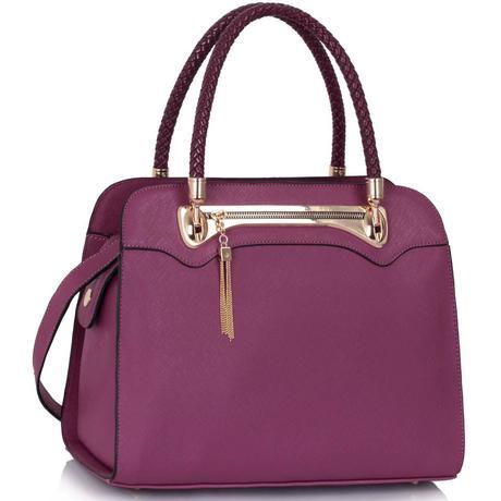 Společenská kabelka, Vánoční dárek, červená,