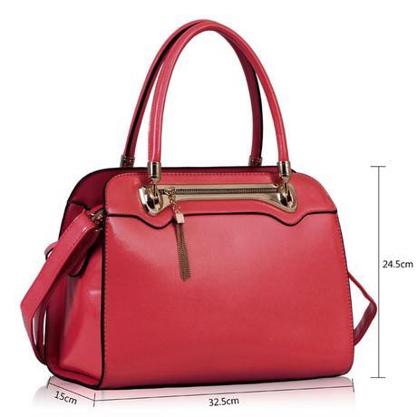 Společenská kabelka, Vánoční dárek, fialová,