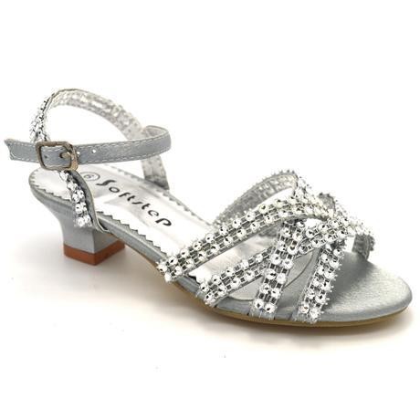 Společenské, plesové sandálky, 16-22,5cm, 35