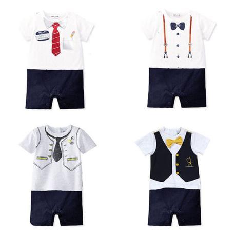 Společenský dětský oblek, overálek, 0-18 měsíců, 74