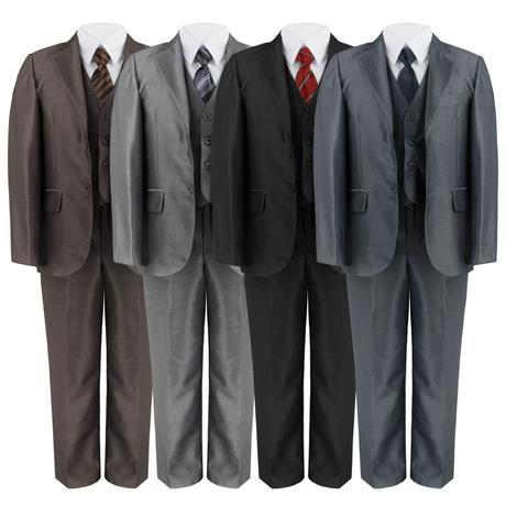 Společenský oblek 1-14 let - půjčovné, 128