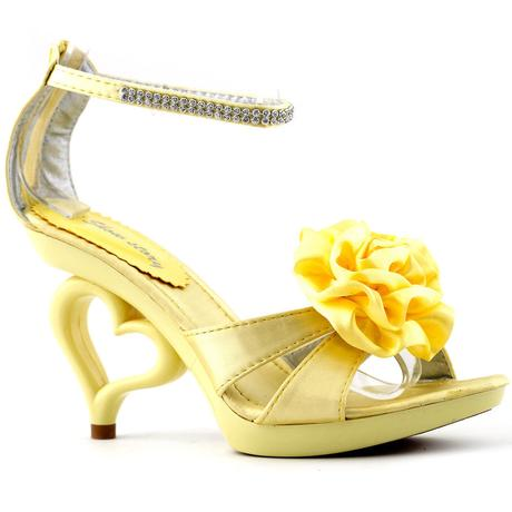 SRDCE - společenské sandálky, 35-41, 36