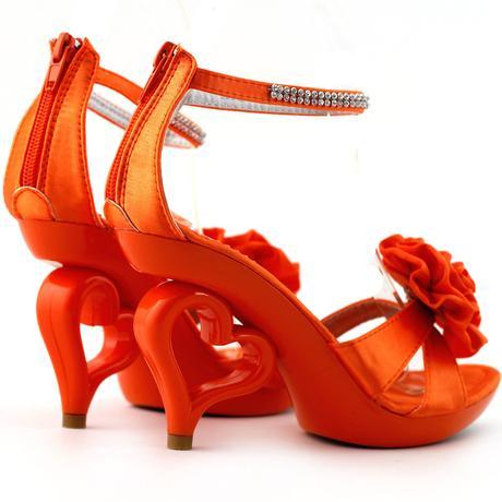 SRDCE - společenské sandálky, 35-41, 39