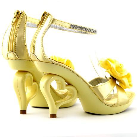 SRDCE - společenské sandálky, 35-41, 41