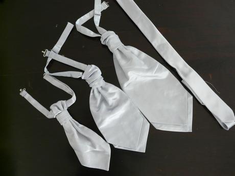 Stříbrná kravata, regata,