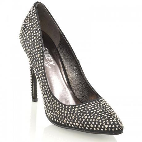 Stříbrné společenské, plesové sandálky 36-41, 41