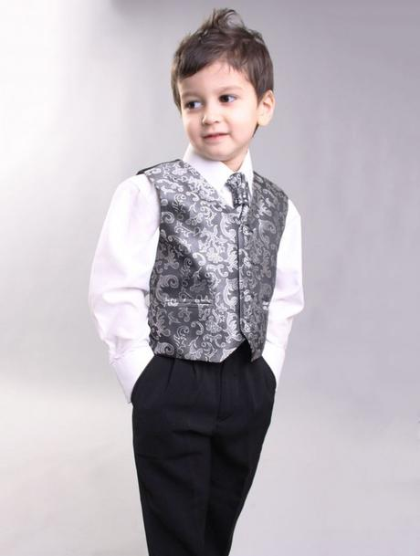 Stříbrný, šedý oblek, svatba, křtiny, půjčovné, 110