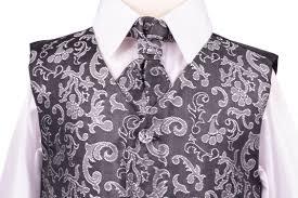 Stříbrný, šedý oblek, svatba, křtiny, půjčovné, 128