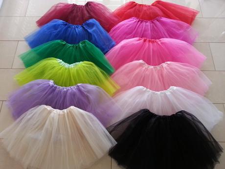 Sukně tuto pro malé družičky, holčičky na tancován, 116