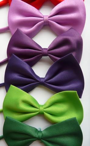 Svatební dětský motýlek, různé barvy,