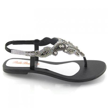 Svatební letní plážové sandálky, 36-41, 36