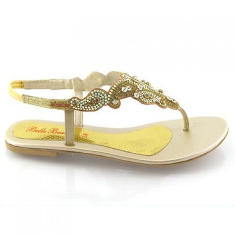 Svatební, plážové sandálky, 36-41, 39