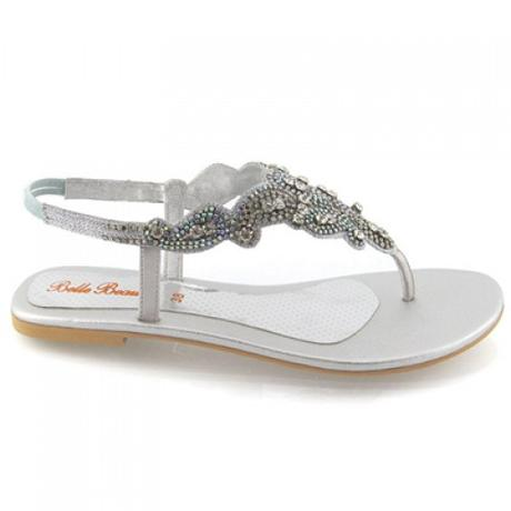 Svatební, plážové sandálky, 36-41, 40