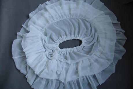 Svatební spodnička - 2 kruhy 6-10 let, 116