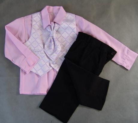 Světle fialový, lilla oblek, půjčovné, 2-4 roky, 104