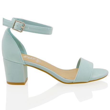 Světle modré svatební, společenské boty, 36-41, 37
