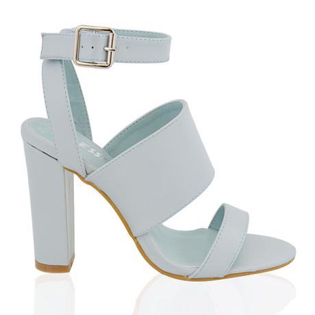 Světle modré svatební, společenské boty, 36-41, 39