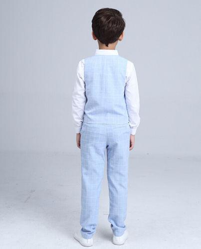 Světle modrý dětský oblek, 3-10 let, 110