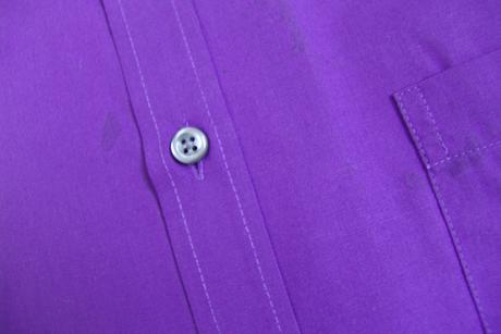 Světle zelená a fialová košile - M, 40