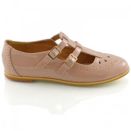 Tělové retro sandálky, lodičky, 36-41, 38