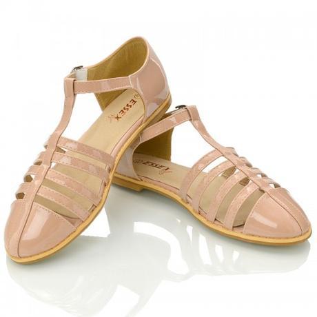 Tělové retro sandálky, lodičky, 36-41, 41