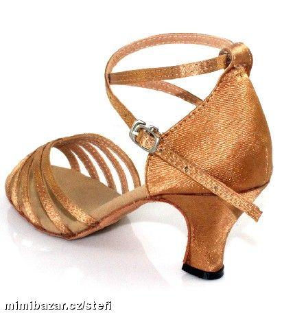 Tělové sandálky, možno i dovnitř na svatbu, 34