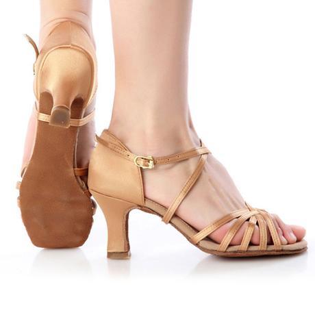 Tělové sandálky, možno i dovnitř na svatbu, 36