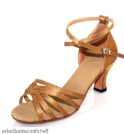 Tělové sandálky, možno i dovnitř na svatbu, 38