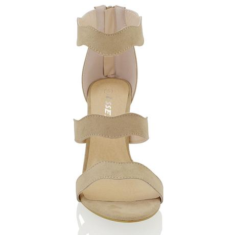 Tělové svatební sandálky, vysoký podpatek, 36-41, 41
