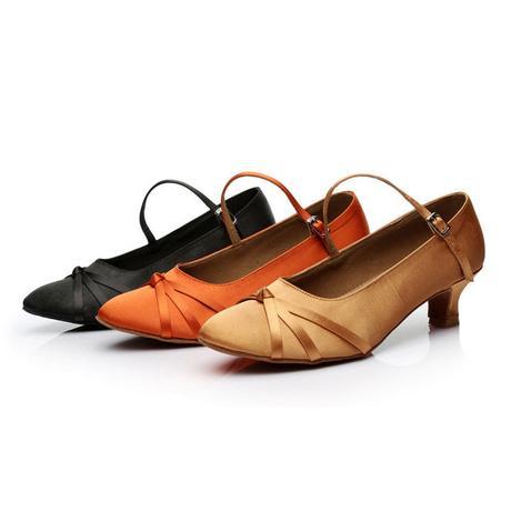 Tělové, zlaté taneční střevíčky, 34-40, 35