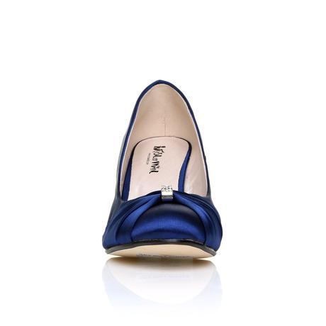 Tmavě modré boty, klínek, 36-41, 36