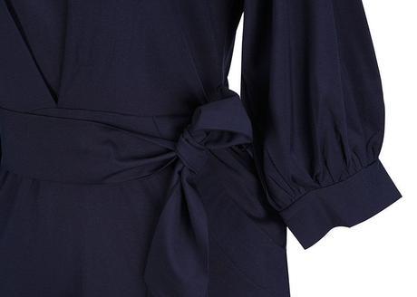 Tmavě modré šaty , S