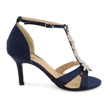 Tmavě modré společenské sandálky, 36-41, 38