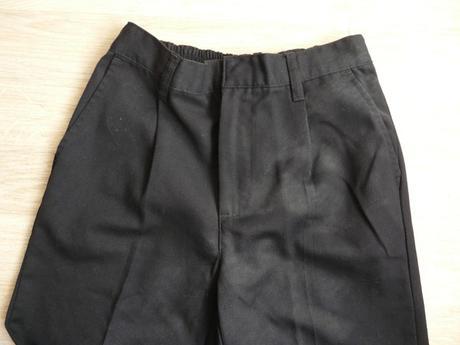 Tmavě modré společenské, svatební kalhoty 9-10, 140