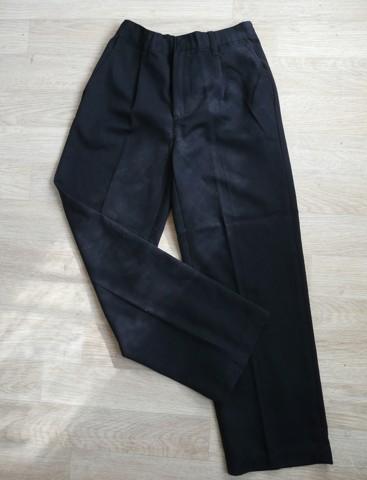 Tmavě modré společenské, svatební kalhoty 9-10, 146